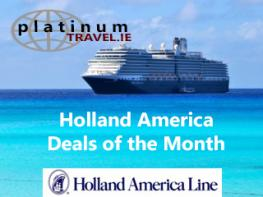 Image of Holland America Cruise Offers website