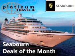 Image of Seabourn Cruise Offers website