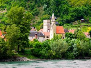 Photograph of Castles along the Rhine